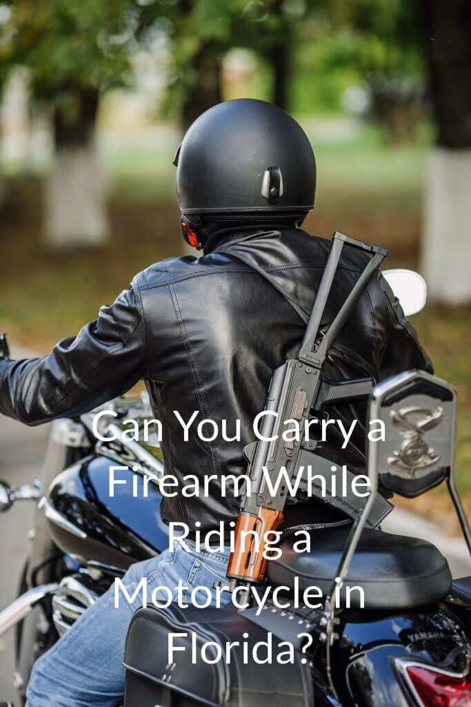 carry a firearm while riding